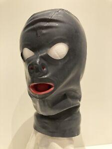 Latex Gummi Maske ca. L Mundauskleidung Anatomisch