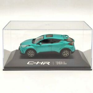 1:43 Toyota C-HR chr SUV Green Diecast Models Car Limited Collection