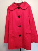 Vintage Style Coat By Centigrade Size S. 60's Vibe, Bertha  style Collar.