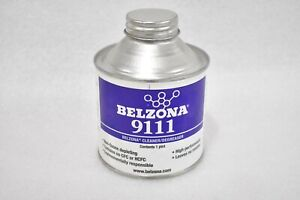 BELZONA 9111 CLEANER/DEGREASER NONOZONE DEPLETING, CONTAINS NO CFC HCFC (1 PINT)