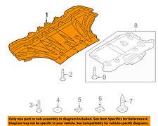 AUDI OEM 11-14 A8 Quattro Splash Shield-Under Engine/Radiator Cover 4H0825235J