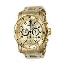 Invicta Pro Diver 23652 Men's Gold-Tone Interchangeable Band Chronograph Watch