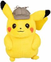 Official Licensed Pokemon Detective Pikachu Plush Stuffed Doll Toy Gift Kids 8""