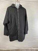 Shed Rain Pouchables Men's Photographer Jacket Black Size L Hoodie Nylon VTG