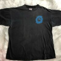 Vintage Mens Denali T Shirt Size XL Doug Geeting Aviation Talkeetna Alaska