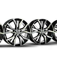 VW 19 Zoll Felgen Golf 7 6 VII VI Alufelgen Santiago GTI 5G0601025AN NEU