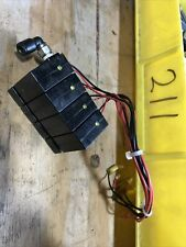 ISONIC V1B05-BW SOLENOID Lot Of Four With Manifold