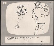 Hey Good Lookin Ralph Bakshi 1973-82 animation Hand-Drawn Production Storyboard