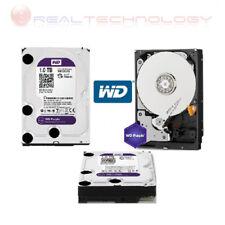 HARD DISK INTERNO 3,5 1TB SATA WESTERN DIGITAL WD10PURX CAVIAR PURPLE HD 1000 GB