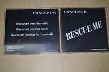 Concept K - Rescue me. DID1024/7 CD-Single