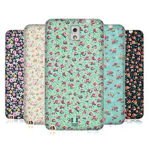 HEAD CASE VINTAGE DITSY FLOWERS SOFT GEL CASE & WALLPAPER FOR SAMSUNG PHONES 2