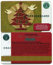 NEW 2008 - NEVER USED Doves & Christmas Tree Starbucks Card