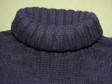"British Royal Navy WW2 AERO ROLL NECK KNIT WOOL ""SUBMARINER"" SWEATER Vtg Style"
