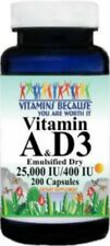 A & D3 25,000 IU Retinyl Palmitate & Beta Carotene  / 400 IU Water Dispersable