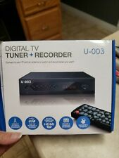 U-003 Digital TV Tuner and Recorder