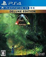 Studio Wildcard ARK Park VR Deluxe Edition SONY PS4 PLAYSTATION 4 Japan Ver