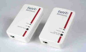 AVM Fritz! Powerline 1240e WLAN Set - 2 Adapter!