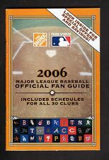 Home Depot--2006 MLB Fan Guide/Schedule Booklet