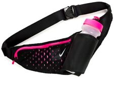 NIKE Running Large Bottle Belt 22oz Bottle 650 ml Pink/ Black