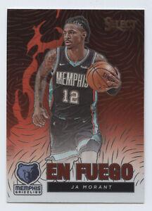 2020-21 Panini Select Basketball Ja Morant En Fuego Memphis Grizzlies