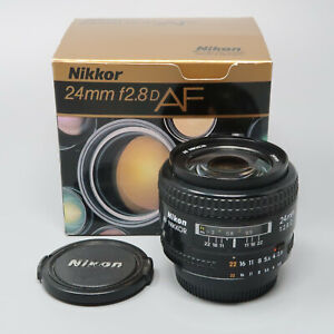 Nikon AF NIKKOR 24mm f/2.8 D Wide Angle Lens