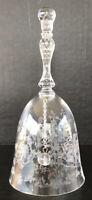 Vintage Fostoria Navarre Bell Etched Elegant Glass