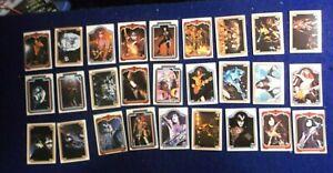 1978 KISS CARD LOT 47/66 SERIES 1 EX. DONRUSS