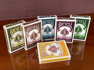 6 DECKS Bicycle Japan playing cards set, 5 colors PLUS Okinawa  USA SELLER!
