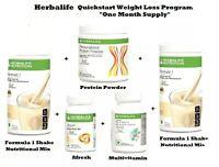 HERBALIFE Quick Start Weight Loss Program- One Month Supply Kit