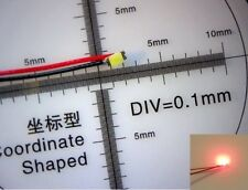 10 X PRE WIRED SMD LED 0603 RED