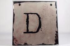 """Words To Live By Sherri Ohler 6"""" Alphabet Tiles Letter 'D' #101783 Demdaco NEW"""