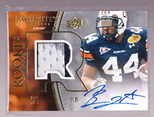 2010 UD Exquisite Ben Tate On Card Auto Multi Colored Jersey Rc Serial # to 120