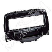 Radioblende+Ablagefach piano schwarz Citroen C1 Peugeot 107 Toyota Aygo ab 2014
