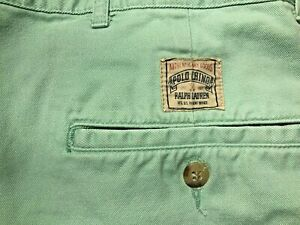 Men's Polo by Ralph Lauren Shorts Size 36--GREEN