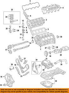 MERCEDES OEM 12-15 C63 AMG-Valve Cover Gasket 1590160221