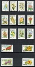 TRINIDAD & TOBAGO 1983 Flowers; Scott 392-407; MNH