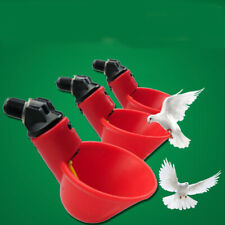 20PCS Automatic Animal Drinker Rustproof Durable Quail Drinker for Poultry