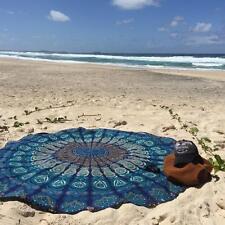 Round Beach Yoga Mat Tapestry Mandala Indian Wall Hanging Throw Towel  Decor