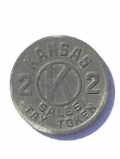 Kansas 2 Sales Tax Token ~ Trade Token - KS-S1 or KS-S2