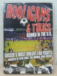 Hooligans & Thugs (DVD, 2004) R4 Banned In The UK