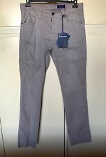 Pantaloni uomo Jeckerson grigi jeans 5 tasche taglia 36 (50)