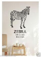 WALL STENCILS PATTERN Airbrush STENCIL LARGE TEMPLATE zebra