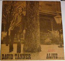 David Tanner - Alive & Among Friends - PROMO vinyl LP - Tanden