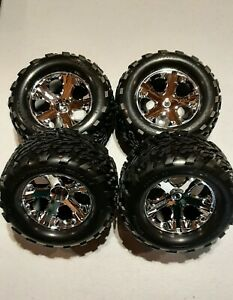 Traxxas Stampede 2wd talon wheels and tires. New take offs. Vxl and xl5