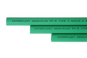 10 x PPR Aqua Plus Rohr 25mm Durchmesser Wasserrohr Heizungsrohr