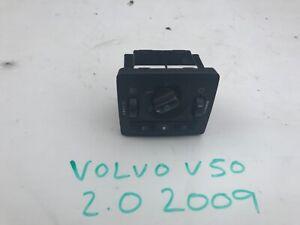 VOLVO V50 HEADLIGHT SWITCHES 2009