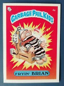Fryin Brian 4a UK Garbage Pail Kids Series 1(1985)Topps~NMT/MINT~Pack Fresh