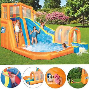 Wasserpark Wasserrutsche Schwimmbecken XL Planschbecken Pool Aquapark Aufblasbar