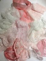 Pretty In Pink Vintage Lace Bundle Sets. 20 meters in a bundle assorted designs