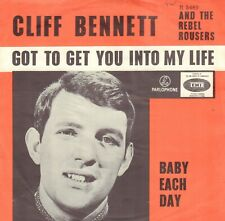 CLIFF BENNETT  – Got To Get You Into My Life  (1966 VINYL SINGLE 7' HOLLAND)